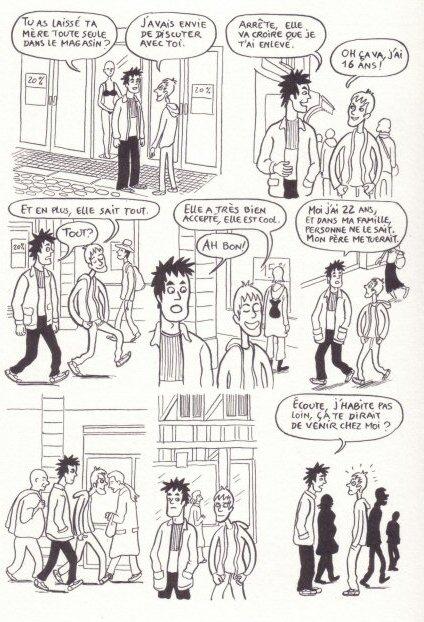Homosexualité dans la bande dessinée Wikipédia