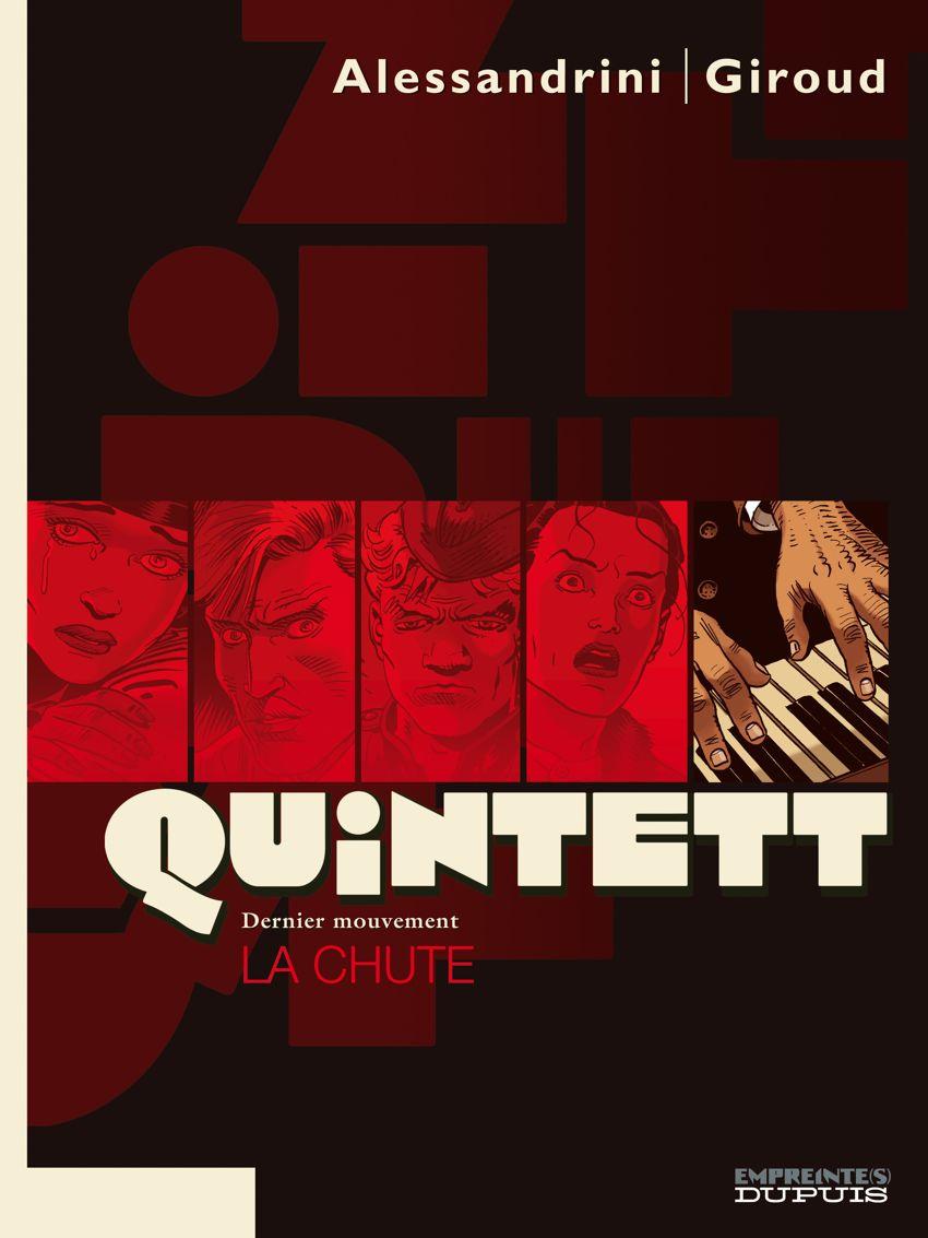 Quintett Intégrale 5 Tomes CBR