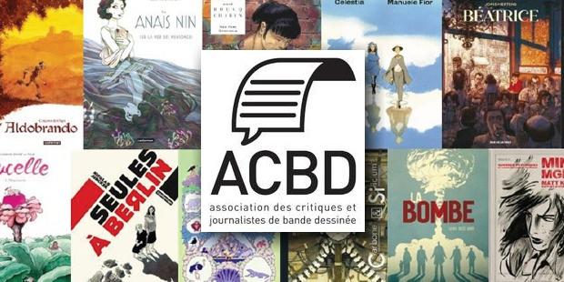 News : Grand Prix de la critique ACBD 2021 - Les 15 titres en compétition