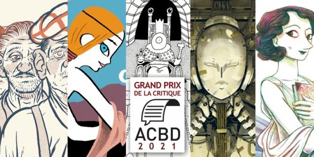 Webzine : Grand Prix de la Critique ACBD : La short list - Les 5 albums en compétition