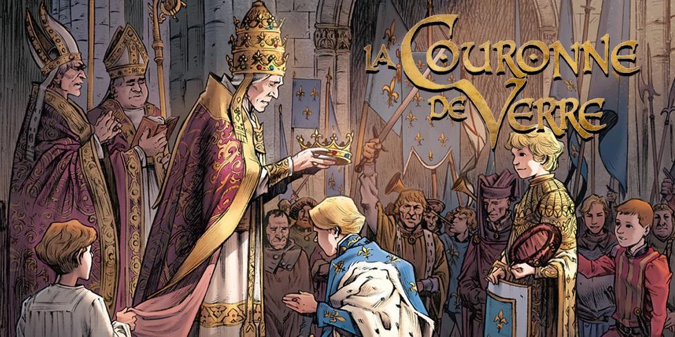Chronique : La couronne de verre -1- Plus peine que gloire (Delcourt)