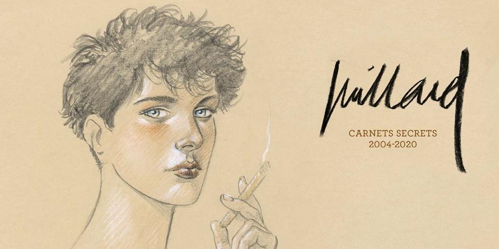 Preview : Juillard - Carnets secrets 2004 - 2020 - Beau livre