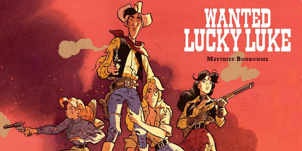 Preview : Lucky Luke (vu par...) 3. Wanted
