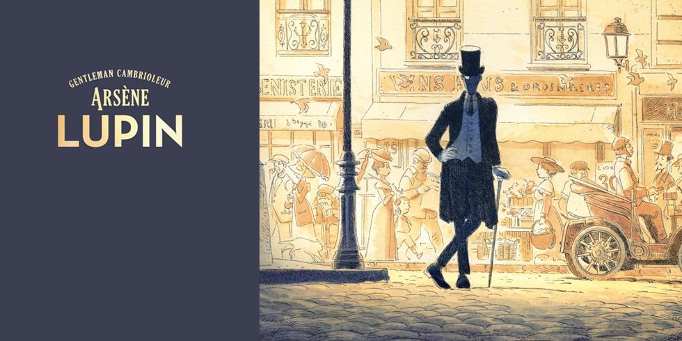 Preview Arsène Lupin illustré par Vincent Mallié